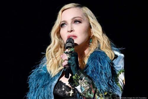 American pop superstar Madonna in France on 26 July 2017 [Venturelli/Getty Images for LDC Foundation