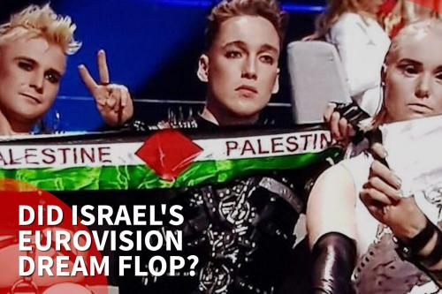 Israeli host expecting Eurovision 'punishment' for Iceland's Palestinian flag display