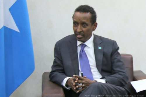 omali Foreign Minister Ahmed Issa Awad [Ministry of Foreign Affairs & International Cooperation of Federal Republic of Somalia]