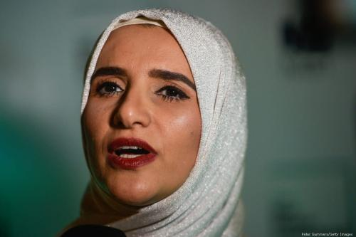 Omani novelist, Jokha Alharthi [Peter Summers/Getty Images]
