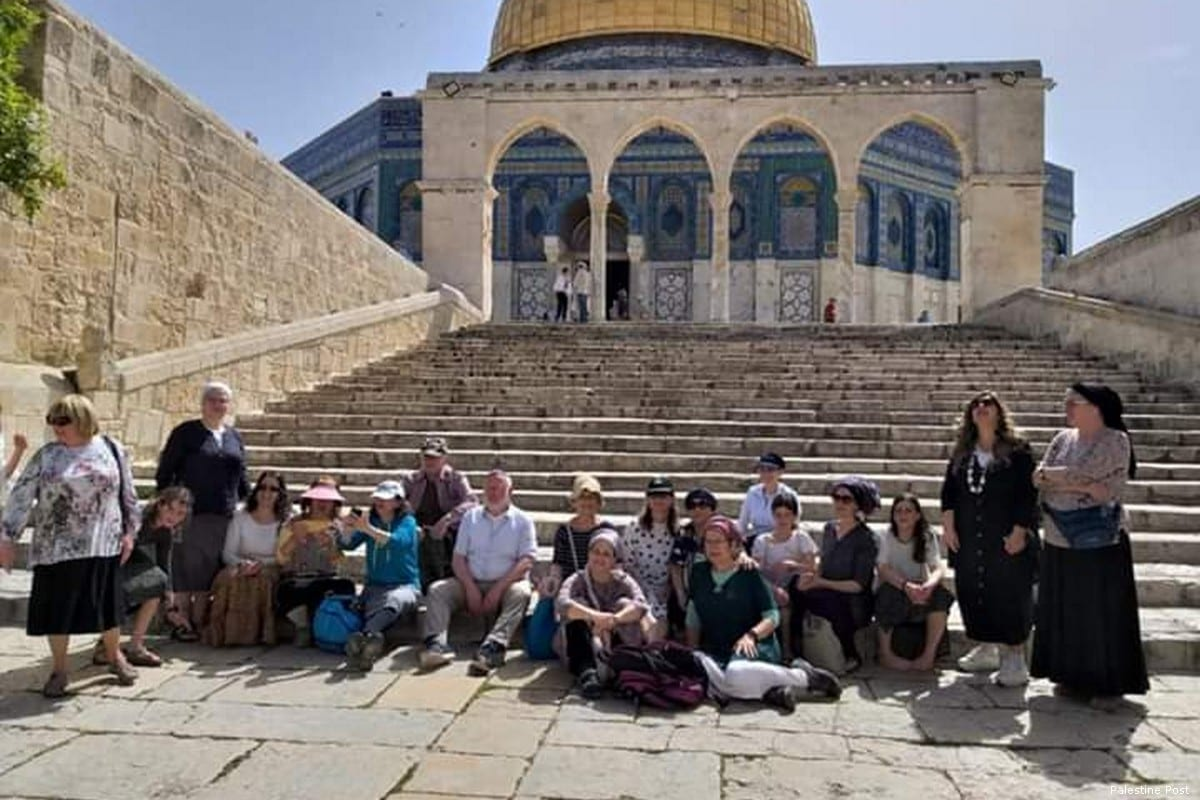 Settlers raid Al-Aqsa Mosque on first day on Ramadan 2019