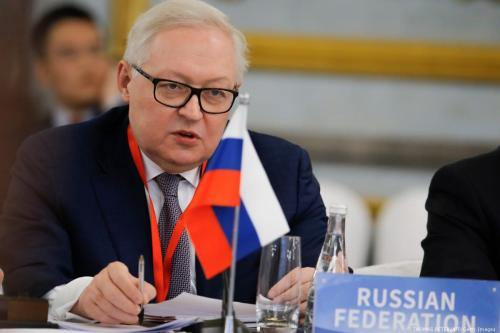 Russian Deputy Foreign Minister Sergei Ryabkov in Beijing 30 January 2019 [THOMAS PETER/AFP/Getty Images]