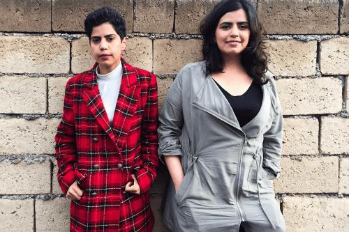 Maha, 28 (R), and Wafa al-Subaie, 25, (L) [Twitter]