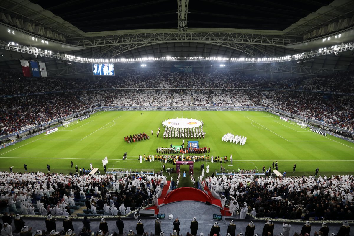 Fifa 2020 World Cup Opening Ceremony.Qatar Brings First New World Cup Stadium To Life As Fifa