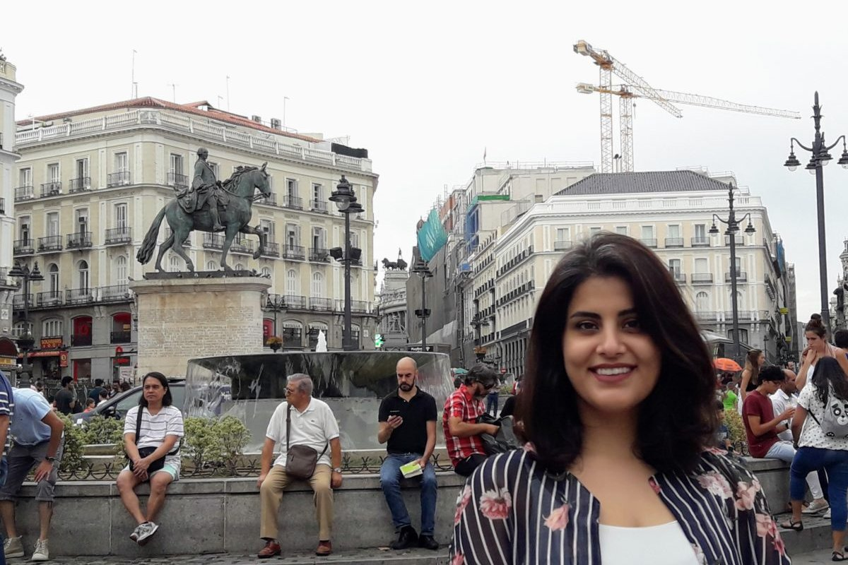 Saudi activist Loujain Al-Hathloul [Wikipedia]