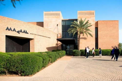 A Moroccan museum which features contemporary artwork