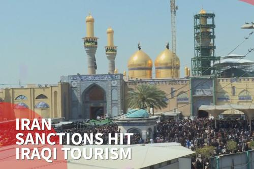 US sanctions on Iran felt in Iraqi Shia tourist areas