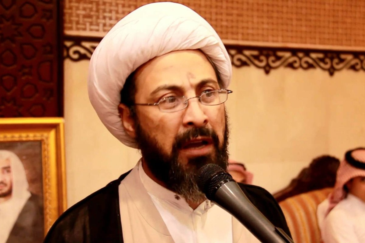 Shia cleric Tawfiq Al-Amer [Twitter]