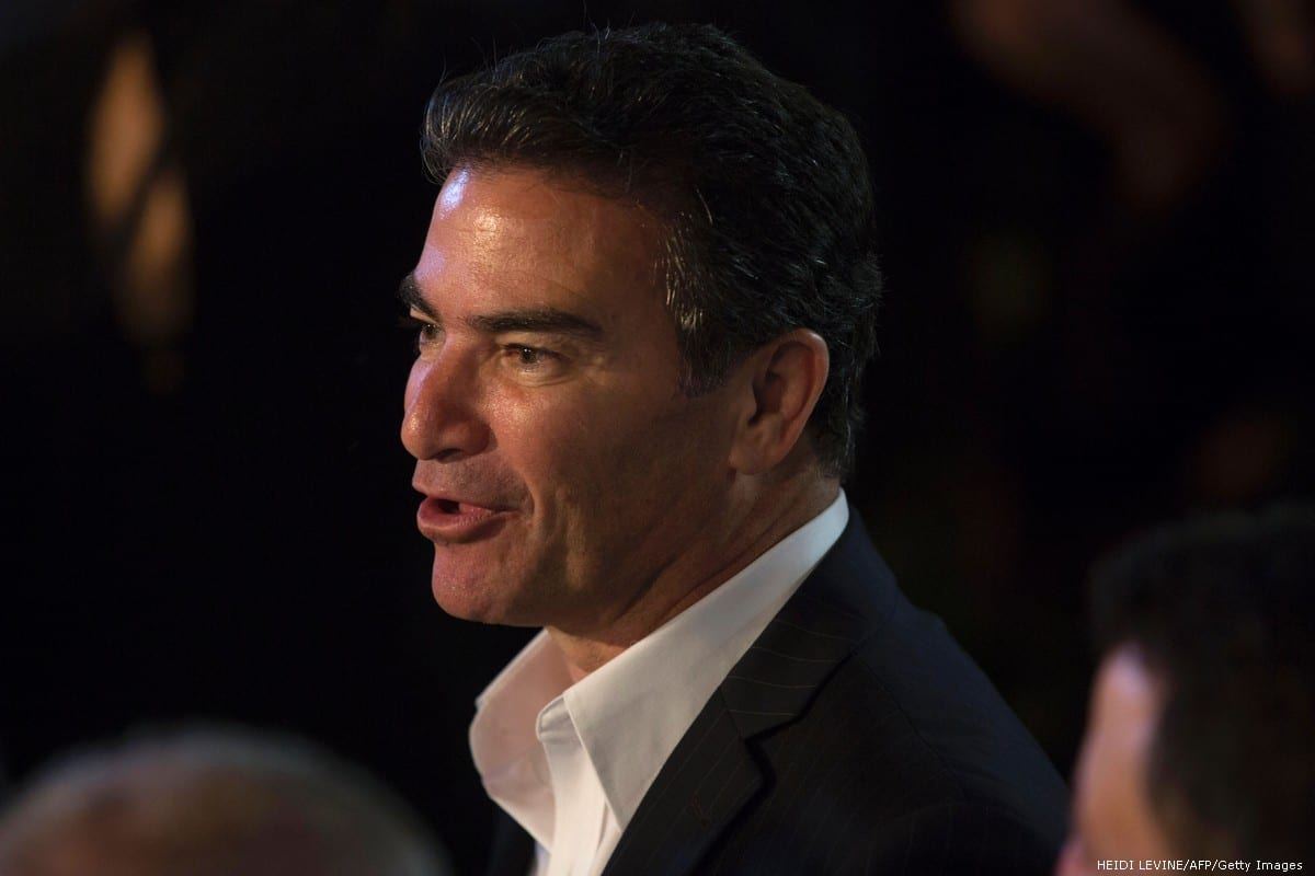 Yossi Cohen, director of Israel's national intelligence agency Mossad on 3 July 2017 [HEIDI LEVINE/AFP/Getty Images]