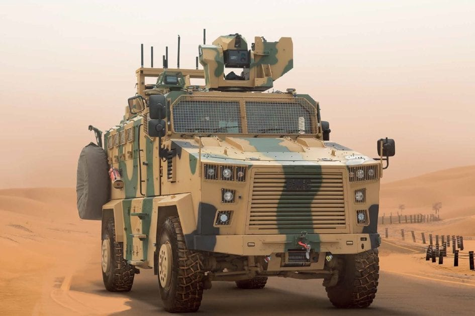Image of a BMC Kirpi, a Turkish made Mine-Resistant Ambush Protected armoured vehicle built by BMC [image: bmc.com.tr]