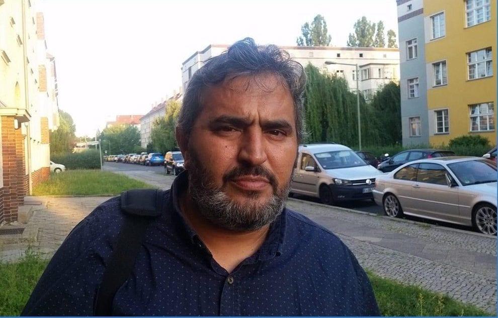 Palestinian journalist Khalid Barakat [Quds Network]