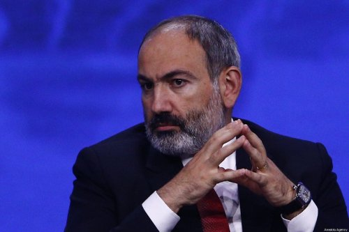 Armenian Prime Minister Nikol Pashinyan [Sefa Karacan/Anadolu Agency]