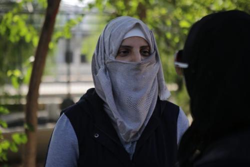 Syrian woman recalls regime jail torture, rape threats