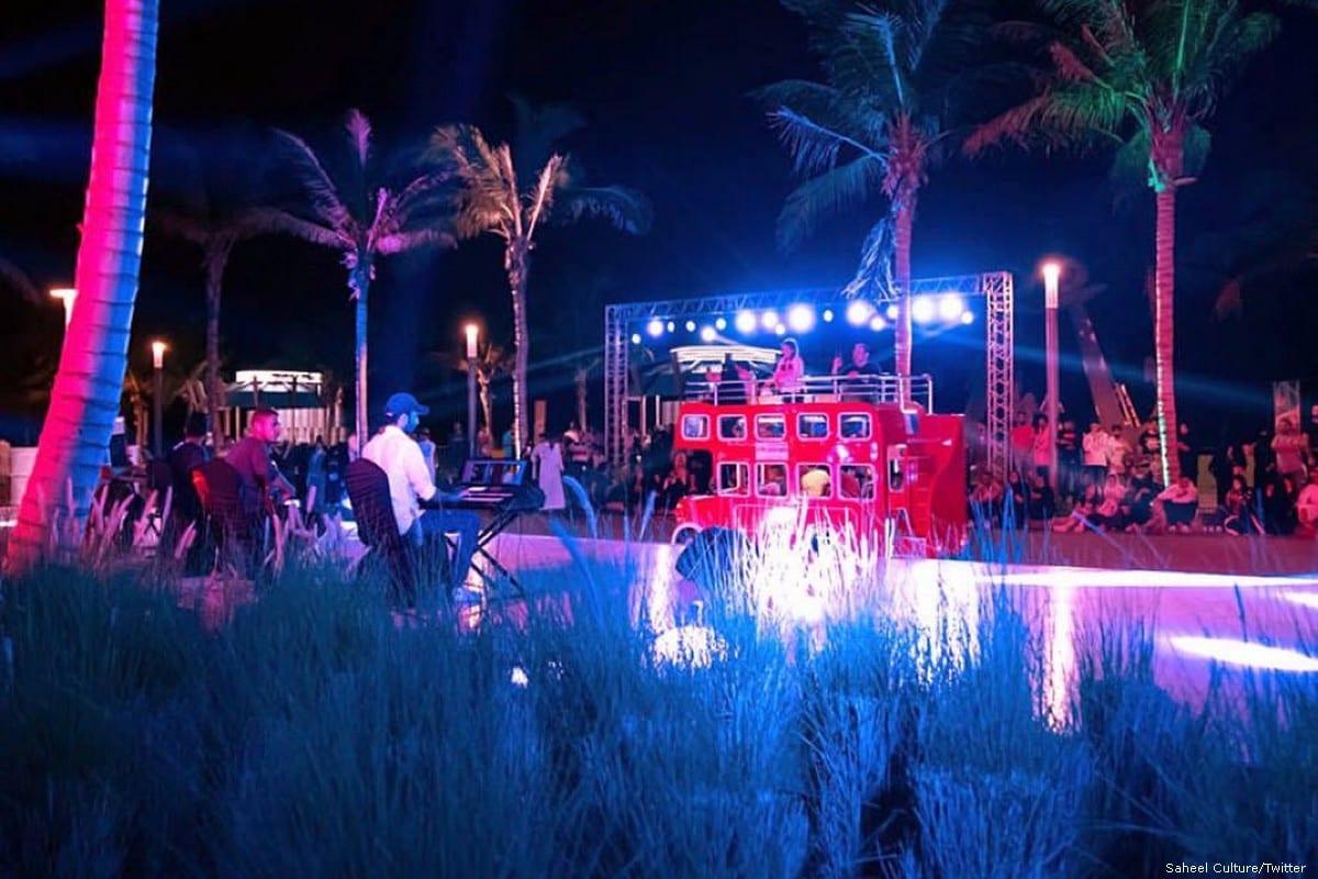 A performance during the Jeddah Season festival [Saheel Culture/Twitter]