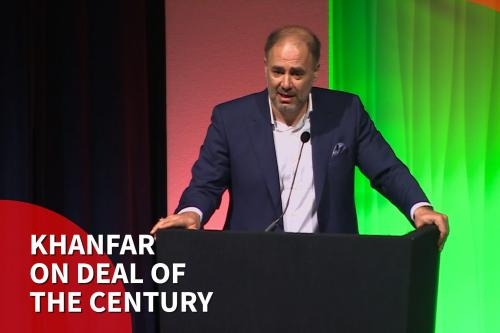 Thumbnail - Wadah Khanfar on 'Deal or Disaster of the Century' at Palestine Expo 2019