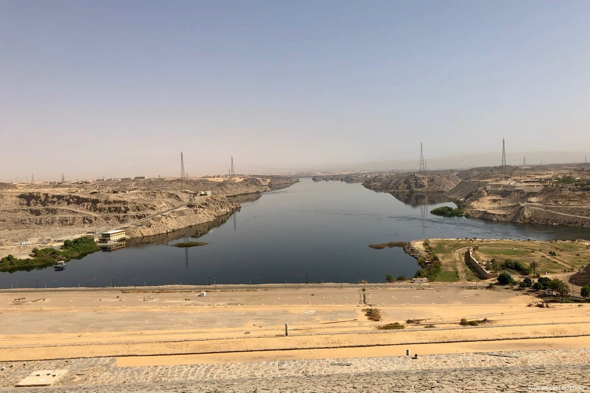 Aswan High Dam in Egypt on 19 May 2019 [Warren LeMay/Flickr]