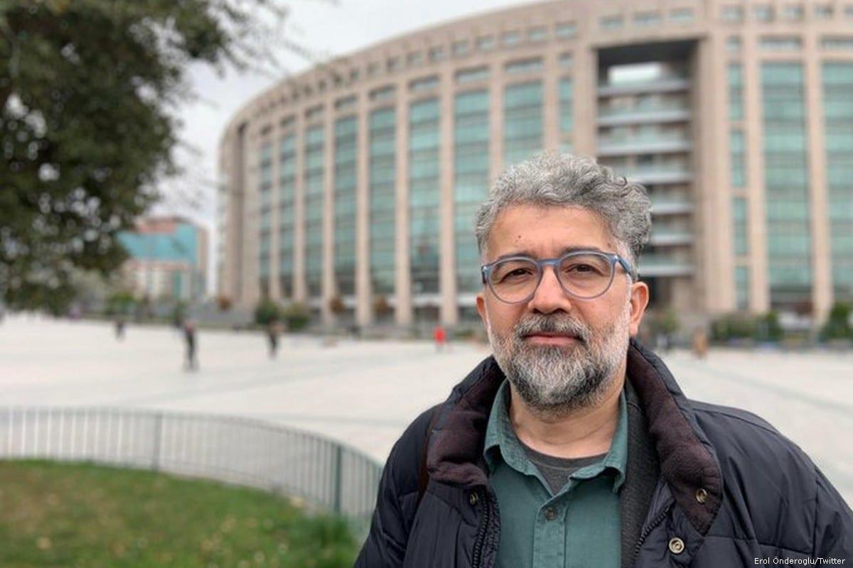 Turkish RSF representative Erol Onderoglu [Erol Önderoglu/Twitter]