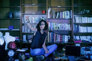 Yasmine Laraqui, founder and curator of the Dasthe Art Space in Casablanca, Morocco on 23 July 2019 [Yasmine Laraqui]