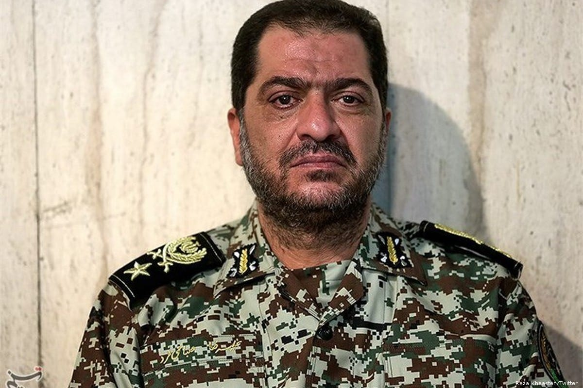 Commander of the Iranian Army's Khatam Al-Anbiya Air Defence Base, Brigadier General Alireza Sabahi Fard