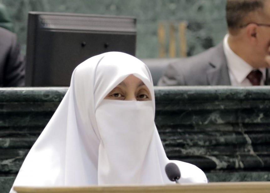 Jordanian lawmaker, Dr Huda al- Atoum [Twitter]