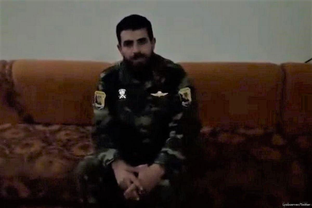 Senior military commander of the eastern Libyan army, MahmoudAl-Werfalli [Lyobserver/Twitter]
