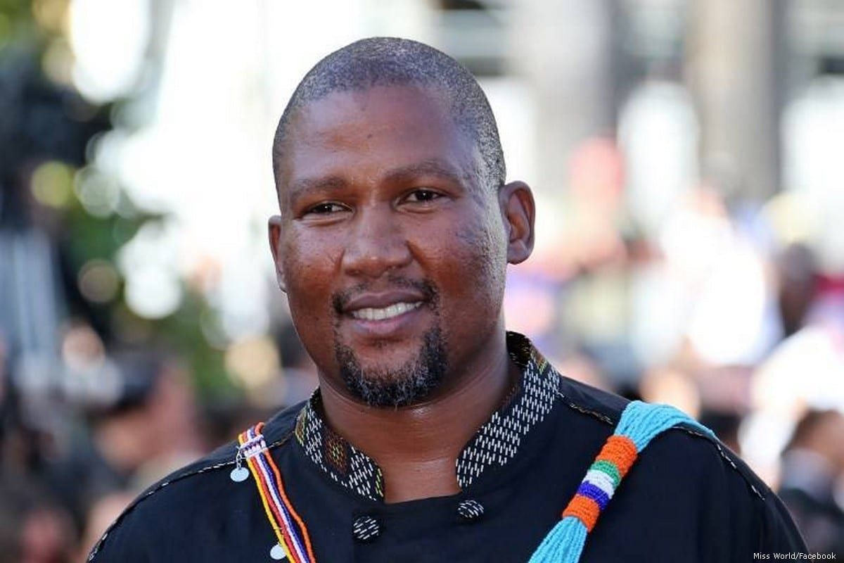 Nkosi Zwelivelile Mandela, grandson of iconic South African leader Nelson Mandela [Miss World/Facebook]