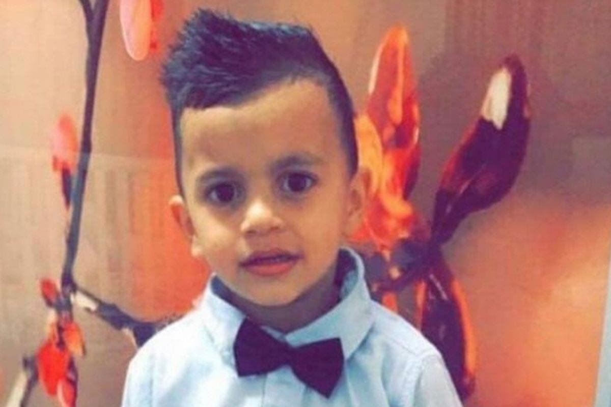 Muhammad Rabi' Elayyan,a four-year-old Palestinian boy, was taken to a police station for interrogation by Israeli forces