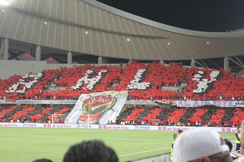 Egypt's Al Ahly fans in UAE [Wikipedia]