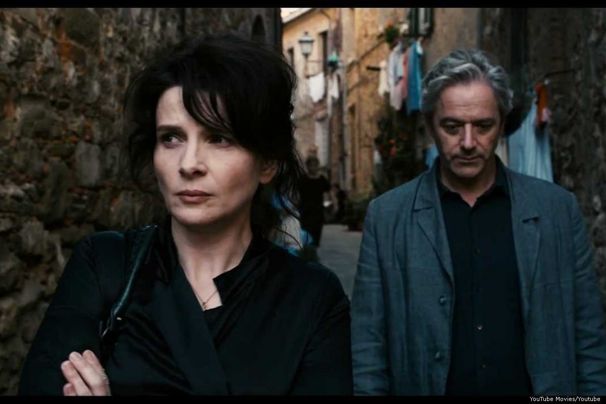Screenshot from 2019 film 'Certified Copy' [YouTube Movies/Youtube]