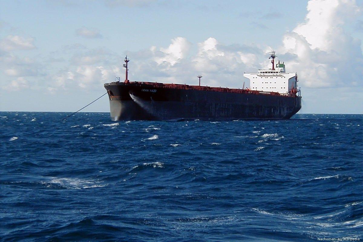 An Iranian oil tanker [Nachoman-au/Wikipedia]