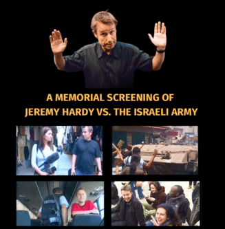 Event: Jeremy Hardy versus the Israeli Army