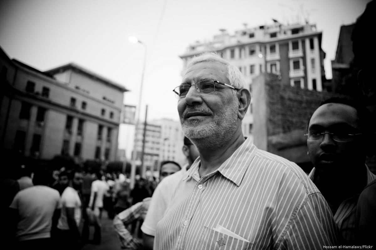 Former Egyptian presidential candidate Abdel Moneim Aboul Fotouh [File photo]