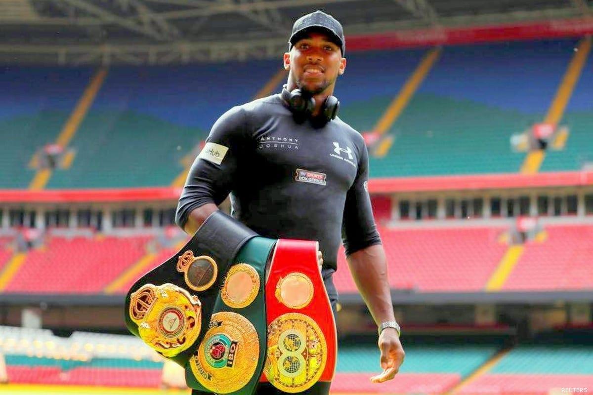 Anthony Joshua, British professional boxer [REUTERS]