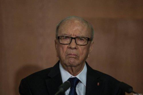 A file photo dated April 27, 2015 shows the late Tunisian President Beji Caid Essebsi [Amine Landoulsi - Anadolu Agency]