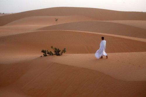 Desert in Mauritania, August 2019 [Özkan Bilgin/Anadolu Agency]