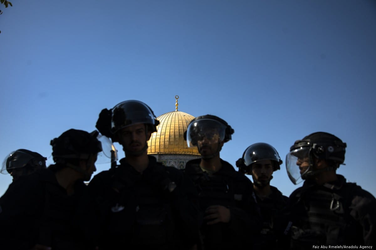 Israel detains 5 Palestinian women, guard at Al-Aqsa Mosque