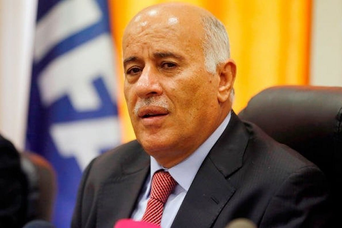 Jibril Rajoub, President of the Palestinian Football Association