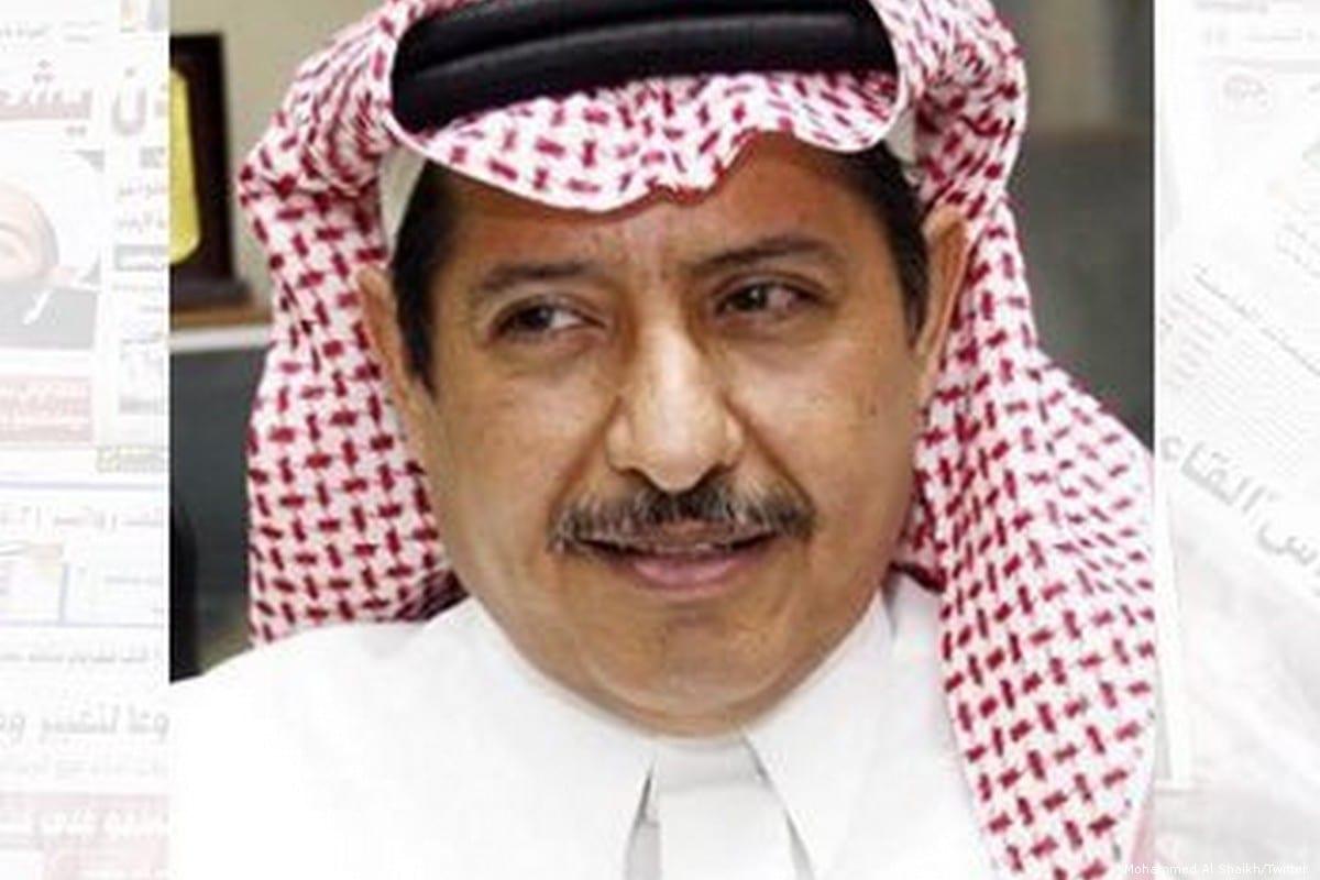 Saudi columnist Mohammed Al Shaikh