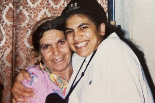 Ninety-year-old Muftia Tlaib and US congresswoman Rashida Tlaib [Rashida Tlaib - Twitter]