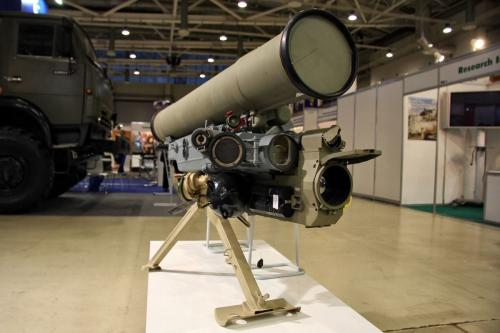 Anti-tank missile [Wikipedia]