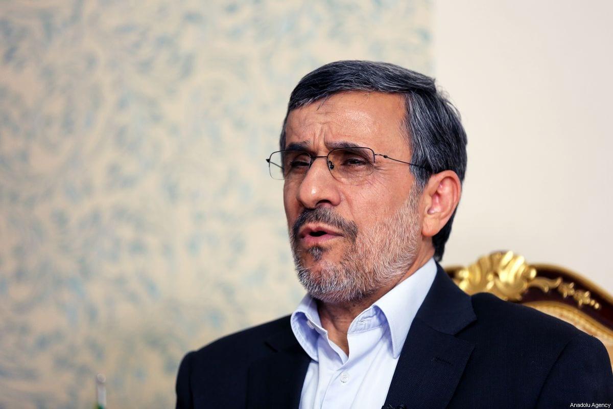 Former President of Iran Mahmoud Ahmadinejad speaks during an exclusive interview in Tehran, Iran on 3 September 2019. [ Fatemeh Bahrami - Anadolu Agency]