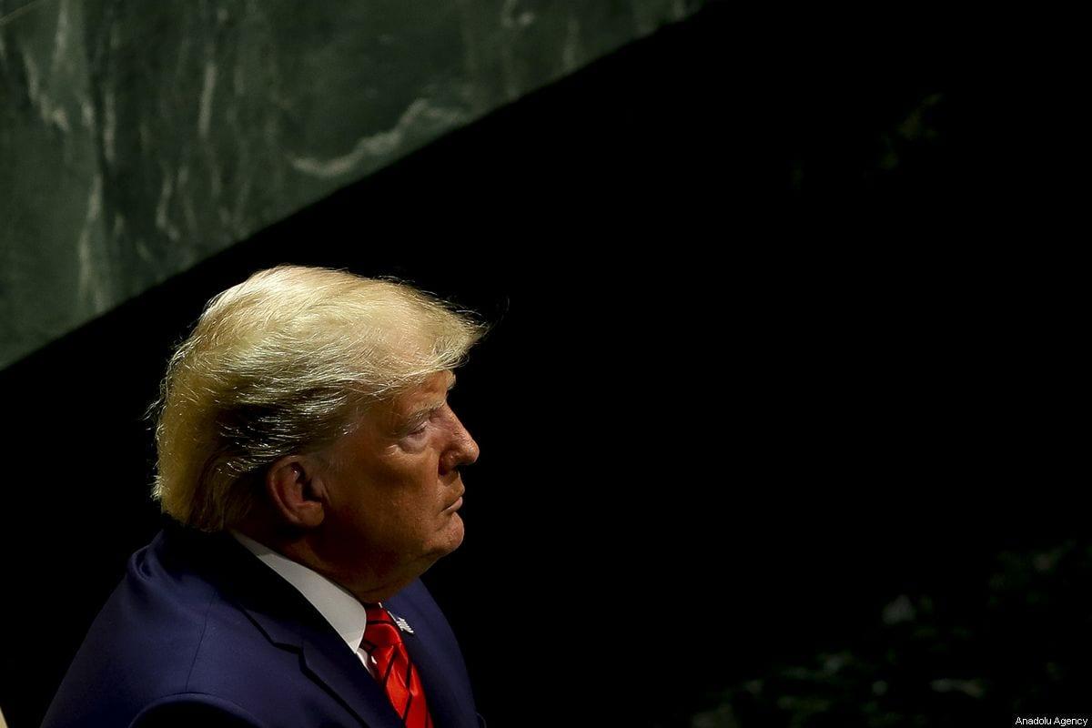 US President Donald Trump in New York, US on 24 September 2019 [Erçin Top/Anadolu Agency