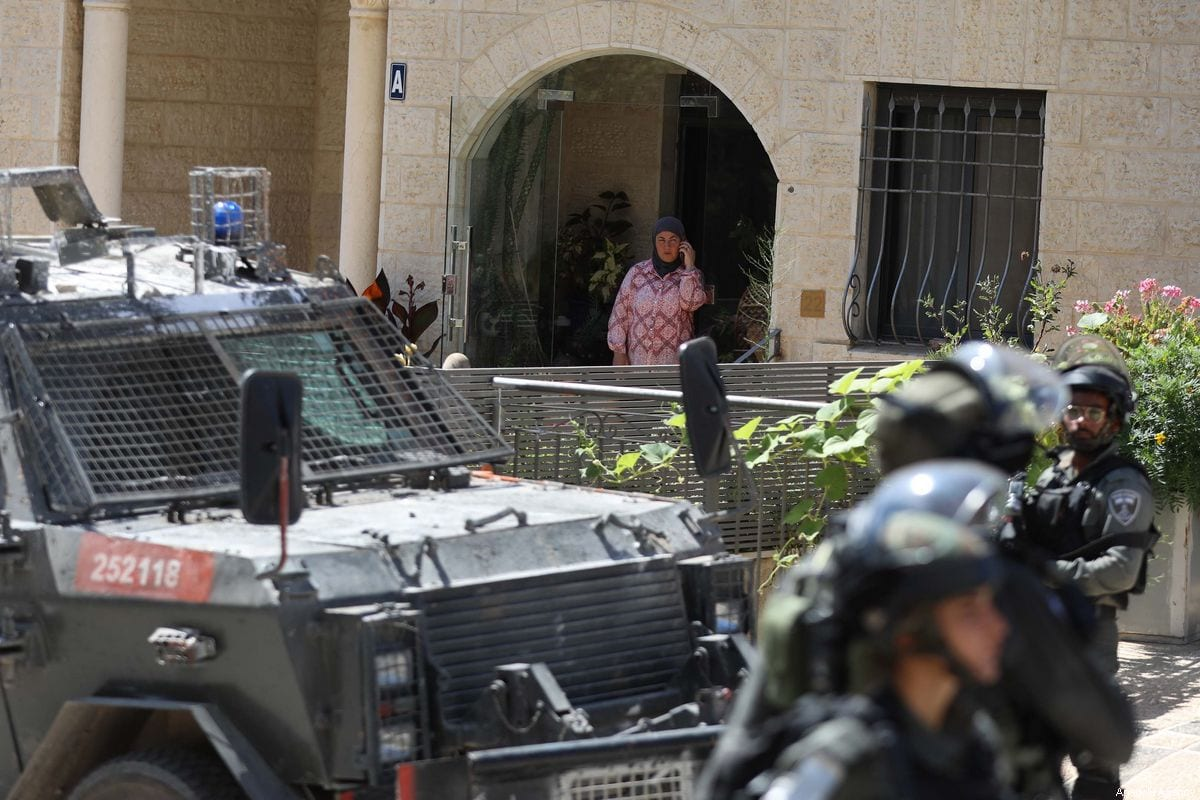 Israeli forces carry out raids on 25 September 2019 [Issam Rimawi/Anadolu Agency]