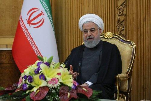 Iranian President Hassan Rouhani in New York on 27 September 2019 in Tehran, Iran [Iranian Presidency/Anadolu Agency]