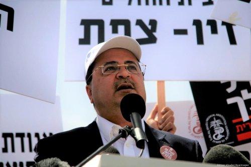 Arab member of the Knesset Ahmad Tibi in Jerusalem on 27 April 2013 [Sliman Khader/Apaimages]