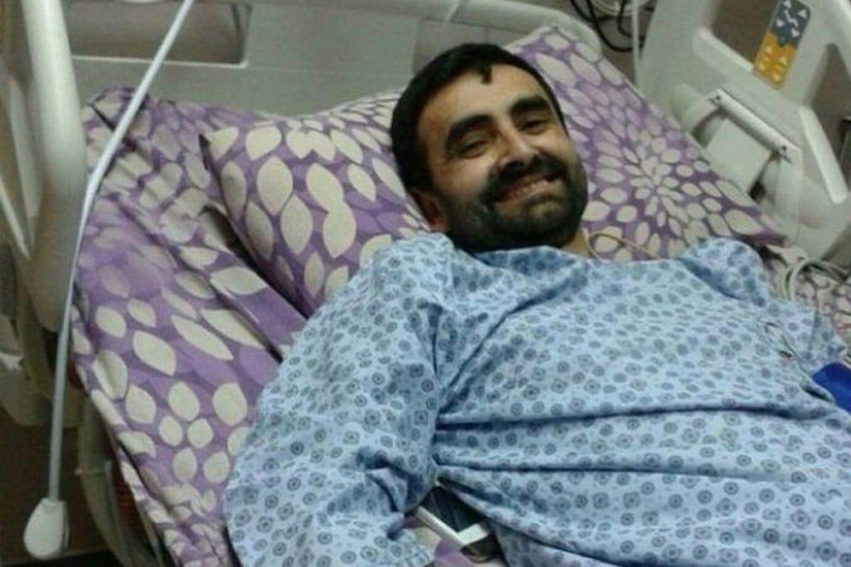 Palestinian prisoner Bassam Al-Sayeh