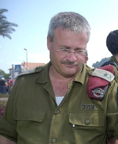 Israel Ziv, a former Israeli army operations director [Wikipedia]