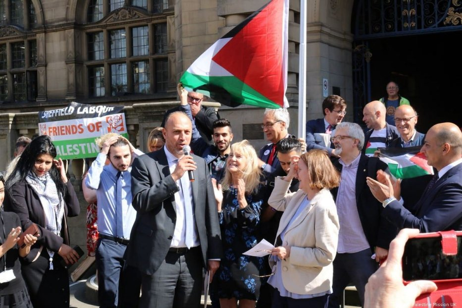 Sheffield becomes first UK city to recognise Palestine