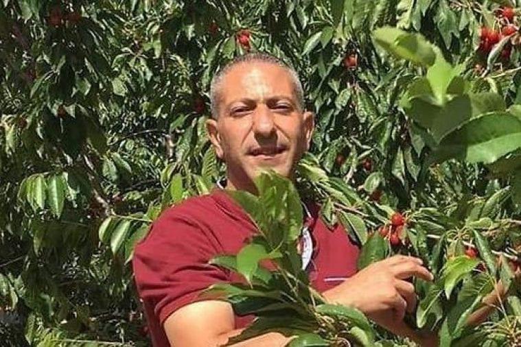 Palestinian detainee Samer Arabeed [Twitter]