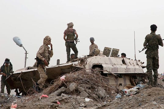 Government forces recaptured the city of Azan in the southern Shabwa province in Yemen [Anadolu Agency]